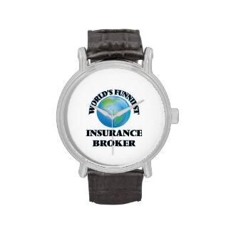 World's Funniest Insurance Broker Wrist Watches