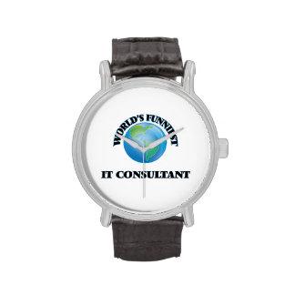World's Funniest It Consultant Wristwatch
