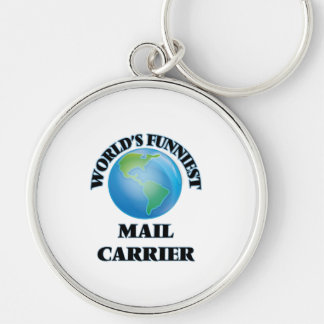 World's Funniest Mail Carrier Key Chains