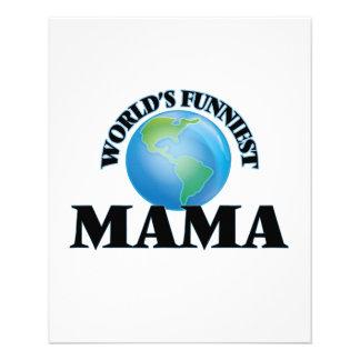 World's Funniest Mama 11.5 Cm X 14 Cm Flyer