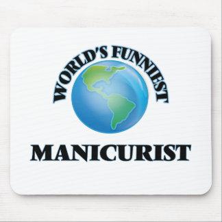 World's Funniest Manicurist Mouse Pad