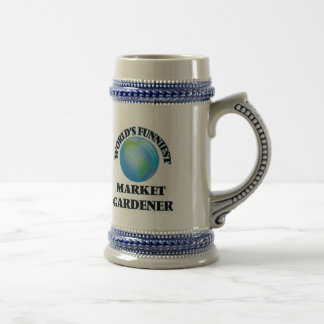 World's Funniest Market Gardener Coffee Mugs