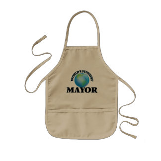 World's Funniest Mayor Aprons