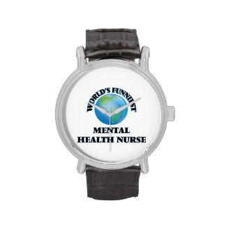 World's Funniest Mental Health Nurse Wrist Watches