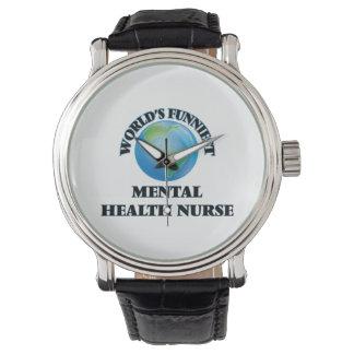 World's Funniest Mental Health Nurse Wristwatches