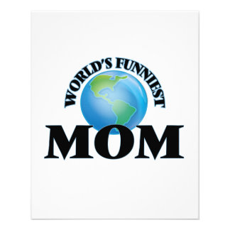 World's Funniest Mom 11.5 Cm X 14 Cm Flyer