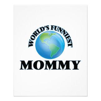World's Funniest Mommy 11.5 Cm X 14 Cm Flyer