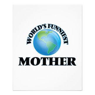 World's Funniest Mother 11.5 Cm X 14 Cm Flyer