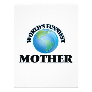 World's Funniest Mother 21.5 Cm X 28 Cm Flyer