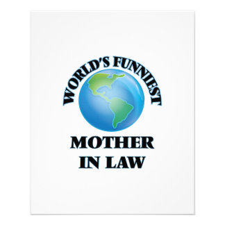 World's Funniest Mother-in-Law 11.5 Cm X 14 Cm Flyer
