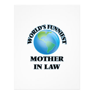 World's Funniest Mother-in-Law 21.5 Cm X 28 Cm Flyer