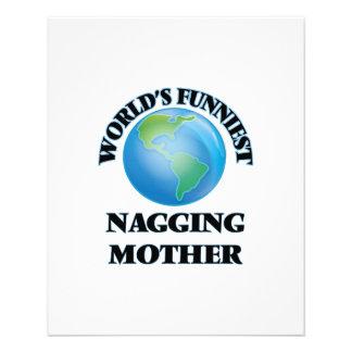World's Funniest Nagging Mother 11.5 Cm X 14 Cm Flyer