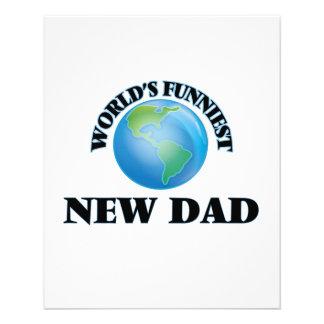 World's Funniest New Dad 11.5 Cm X 14 Cm Flyer