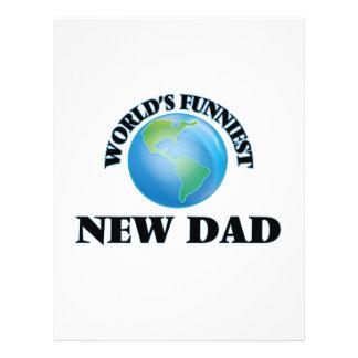 World's Funniest New Dad 21.5 Cm X 28 Cm Flyer