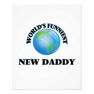 World's Funniest New Daddy 11.5 Cm X 14 Cm Flyer