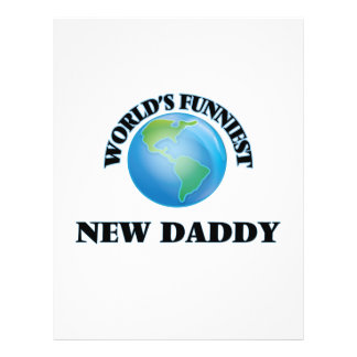 World's Funniest New Daddy 21.5 Cm X 28 Cm Flyer