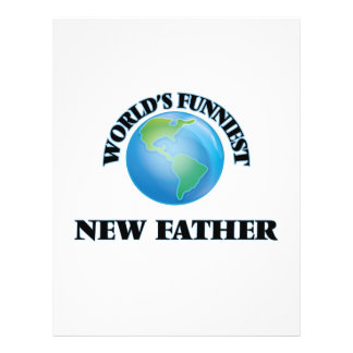 World's Funniest New Father 21.5 Cm X 28 Cm Flyer