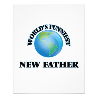 World's Funniest New Father 11.5 Cm X 14 Cm Flyer