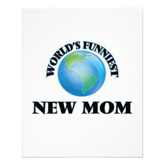 World's Funniest New Mom 11.5 Cm X 14 Cm Flyer