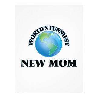 World's Funniest New Mom 21.5 Cm X 28 Cm Flyer