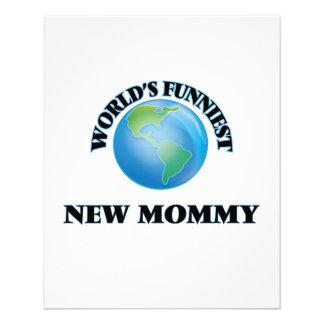 World's Funniest New Mommy 11.5 Cm X 14 Cm Flyer