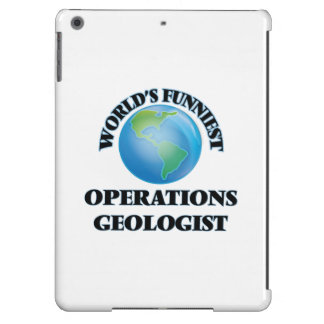 World's Funniest Operations Geologist Case For iPad Air