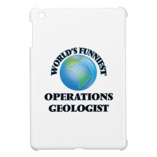 World's Funniest Operations Geologist iPad Mini Cases