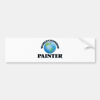 World's Funniest Painter Bumper Stickers