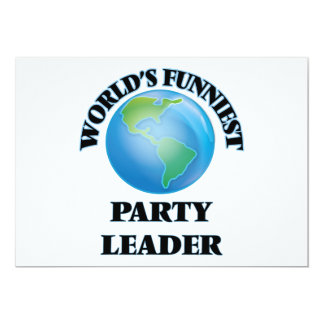 World's Funniest Party Leader Card