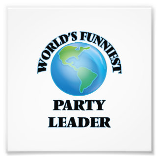 World's Funniest Party Leader Art Photo