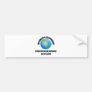 World's Funniest Photographic Stylist Bumper Stickers