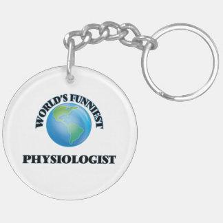 World's Funniest Physiologist Acrylic Keychain