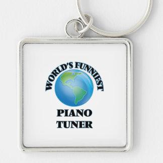 World's Funniest Piano Tuner Keychain
