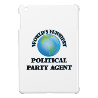 World's Funniest Political Party Agent iPad Mini Case