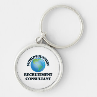 World's Funniest Recruitment Consultant Keychains