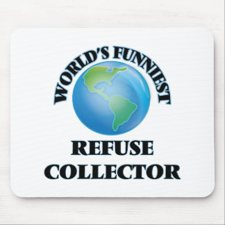 World's Funniest Refuse Collector Mousepad