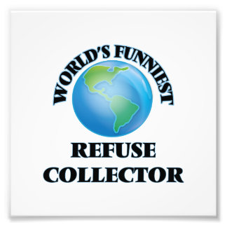 World's Funniest Refuse Collector Photograph