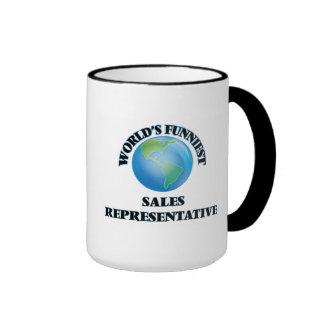 World's Funniest Sales Representative Mug