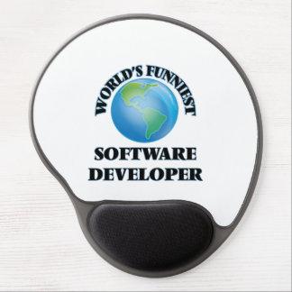 World's Funniest Software Developer Gel Mousepads