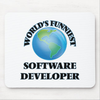 World's Funniest Software Developer Mouse Pad