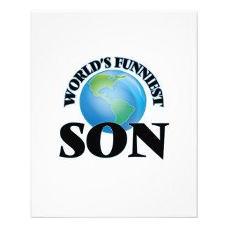 World's Funniest Son 11.5 Cm X 14 Cm Flyer