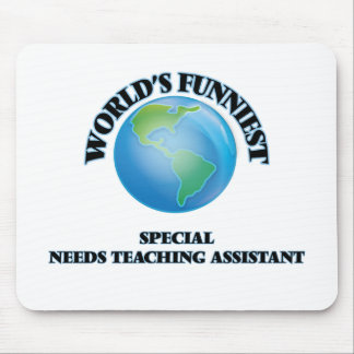 World's Funniest Special Needs Teaching Assistant Mousepads