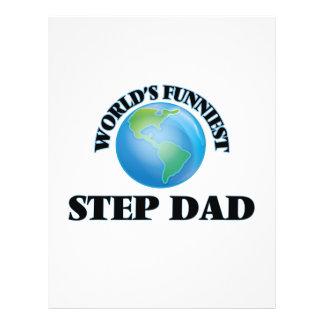 World's Funniest Step-Dad 21.5 Cm X 28 Cm Flyer