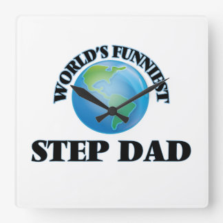 World's Funniest Step-Dad Wall Clocks