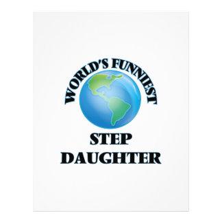 World's Funniest Step-Daughter 21.5 Cm X 28 Cm Flyer