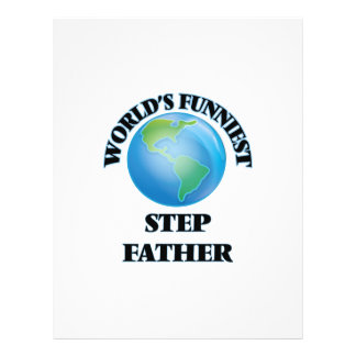 World's Funniest Step-Father 21.5 Cm X 28 Cm Flyer