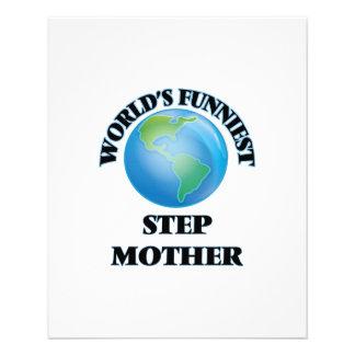 World's Funniest Step-Mother 11.5 Cm X 14 Cm Flyer
