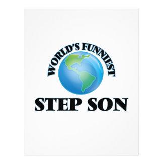 World's Funniest Step-Son 21.5 Cm X 28 Cm Flyer