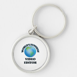 World's Funniest Video Editor Keychains