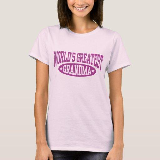 World's Greastest Grandma T-Shirt